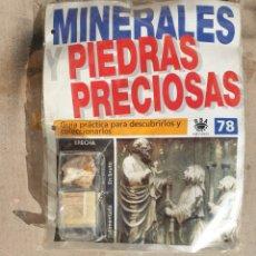 Coleccionismo de gemas: MINERALES PIEDRAS PRECIOSAS. Lote 161482710