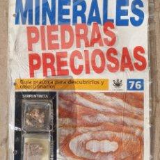 Coleccionismo de gemas: MINERALES PIEDRAS PRECIOSAS. Lote 161483692