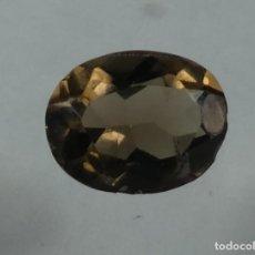Coleccionismo de gemas: (137) MINERALES. CUARZO AHUMADO, GEMA FACETADA, MADAGASCAR.. Lote 161483930