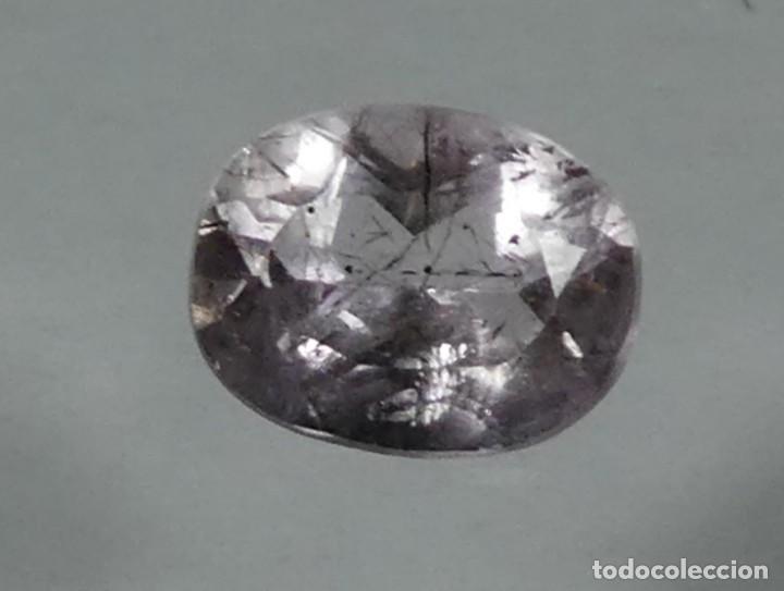 (140) MINERALES. AMATISTA, GEMA FACETADA, MADAGASCAR. (Coleccionismo - Mineralogía - Gemas)