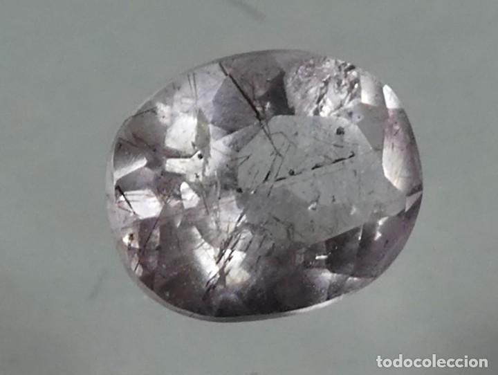 Coleccionismo de gemas: (140) MINERALES. AMATISTA, GEMA FACETADA, MADAGASCAR. - Foto 3 - 161484674