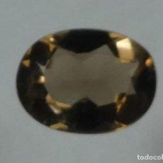Coleccionismo de gemas: (147) MINERALES. CUARZO AHUMADO, GEMA FACETADA, MADAGASCAR.. Lote 161485378