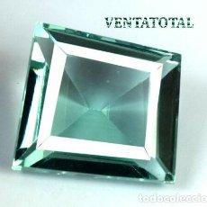 Coleccionismo de gemas: TOPACIO VERDE DE 24,75 KILATES CON CERTIFICADO AGSL- MEDIDA 1,9 X 1,7 CENTIMETROS - Nº9. Lote 161963302