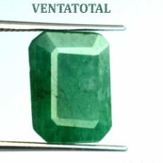 Coleccionismo de gemas: ESMERALDA DE 4,85 KILATES CON CERTIFICADO IGL - MEDIDA 1,2 X 0,9 CENTIMETROS - Nº22. Lote 163521146