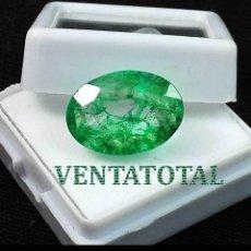 Coleccionismo de gemas: ESMERALDA VERDE DE 5 KILATES CON CERTIFICADO IGL -MEDIDA 1,2 X 0,8 CENTIMETRS Nº32. Lote 163529298
