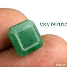 Coleccionismo de gemas: ESMERALDA VERDE DE 4,80 KILATES CON CERTIFICADO IGL -MEDIDA 1,0 X 1,0 CENTIMETRS Nº33. Lote 163529558