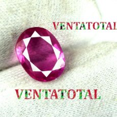 Coleccionismo de gemas: TURMALINA ROSA 5,35 KILATES CON CERTIFICADO AGI - MEDIDA 1,1 X 0,9 CENTIMETROS Nº20. Lote 164305398