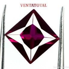 Coleccionismo de gemas: RUBI ROJO 1,90 KILATES CON CERTIFICADO AGSL - MEDIDA 0,6 X 0,6 CENTIMETROS Nº44. Lote 164360710