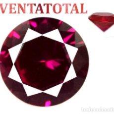Coleccionismo de gemas: RUBI ROJO 2,80 KILATES CON CERTIFICADO AGSL - MEDIDA 0,8 X 0,8 CENTIMETROS Nº49. Lote 164759582