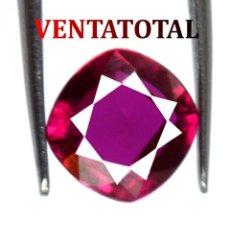 Coleccionismo de gemas: RUBI ROJO DESLUMBRANTE DE 2,55 KILATES CON CERTIFICADO AGI - MEDIDA 0,7 X 0,7 CENTIMETROS Nº56. Lote 164765554
