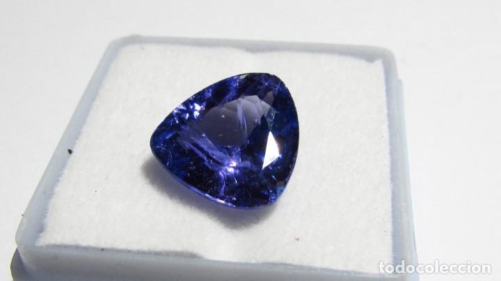 Coleccionismo de gemas: 5,50 CT GRAN TANZANITA NATURAL DE ALTA CALIDAD CERTIFICADO GRS FOTOS REALES - Foto 3 - 164817334
