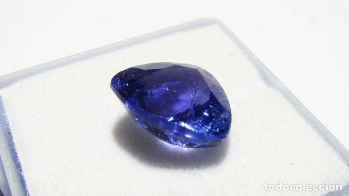 Coleccionismo de gemas: 5,50 CT GRAN TANZANITA NATURAL DE ALTA CALIDAD CERTIFICADO GRS FOTOS REALES - Foto 5 - 164817334