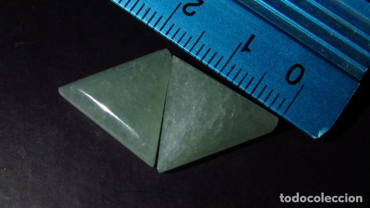 Coleccionismo de gemas: 14,65 CT LOTE - PAREJA DE JADE NEFRITA SIN TRATAR TIPO A - Foto 4 - 164818298