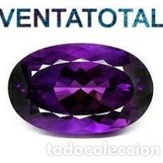 Coleccionismo de gemas: ALEJANDRITA VIOLETA ROSACEO DE 6,65 KILATS + CERTIFICADO AGI - MEDIDA 1,2 X 0,7 CENTIMETROS N6. Lote 164863622