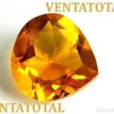 Coleccionismo de gemas - CITRINO AMARILLO DE 19,20 KILATES - CON CERTIFICADO iGL -MEDIDA 1,9 X 1,9 CENTIMETROS -Nº26 - 165697758