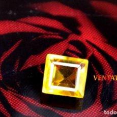 Coleccionismo de gemas: CITRINO NARANJA DE 6,65 KILATES - CON CERTIFICADO AGSL -MEDIDA 1,2 X 1,1 CENTIMETROS -Nº39. Lote 165698906