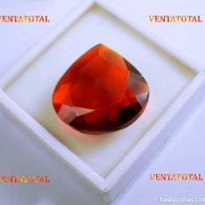 Coleccionismo de gemas - CITRINO AMARILLO DE 97,50 KILATES - CON CERTIFICADO IGL -MEDIDA 3,1 X 3,0 CENTIMETROS -Nº40 - 165698930