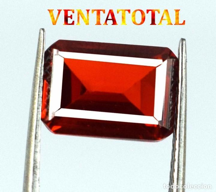 CITRINO AMARILLO DE 93,40 KILATES - CON CERTIFICADO IGL -MEDIDA 3,5 X 2,5 CENTIMETROS -Nº41 (Coleccionismo - Mineralogía - Gemas)