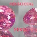 Coleccionismo de gemas: KUNCITE LAGRIMA ROSA DE 6,05 KILATES - CON CERTIFICADO AGI -MEDIDA 1,1 X 0,8 CENTIMETROS - Nº10. Lote 165792754