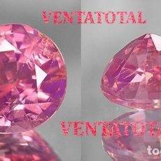 Coleccionismo de gemas: KUNCITE LAGRIMA ROSA DE 8,50 KILATES - CON CERTIFICADO IGL - MEDIDA 1,3 X 0,9 CENTIMETROS - Nº13. Lote 165793058
