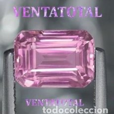 Coleccionismo de gemas: KUNCITE ROSA DE 8,70 KILATES CON CERTIFICADO IGL - MEDIDA 1,1 X 0,8 CENTIMETROS - Nº31. Lote 165799058