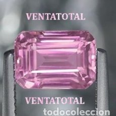 Coleccionismo de gemas: KUNCITE ROSA DE 10,60 KILATES CON CERTIFICADO IGL - MEDIDA 1,3 X 0,8 CENTIMETROS - Nº32. Lote 165799186