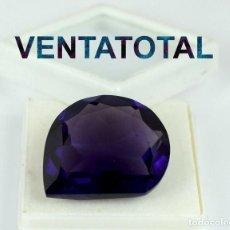Coleccionismo de gemas: AMATISTA VIOLETA DE 51,85 KILATES CON CERTIFICADO AGI - MIDE 2,8 X 2,3 CENTIMETROS - Nº10. Lote 166338210