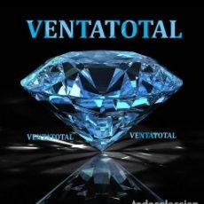 Coleccionismo de gemas: TOPACIO LAVANDA DESLUMBRANTE TALLA DIAMANTE 96,00 KILATES - MEDIDA 4,0 X 2,0 CENTIMETROS Nº1. Lote 166578210