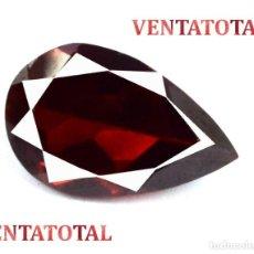 Coleccionismo de gemas: GRANATE LAGRIMA DE 6,25 KILATES - CON CERTIFICADO AGI - MIDE 1,2 X 0,8 CENTIMETROS Nº4. Lote 166734814