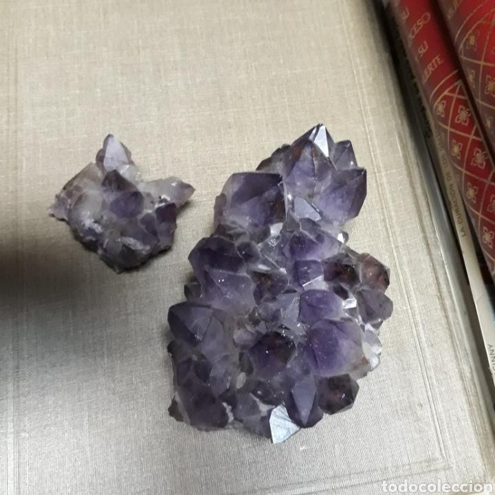 CUARZO, AMATISA (Coleccionismo - Mineralogía - Gemas)
