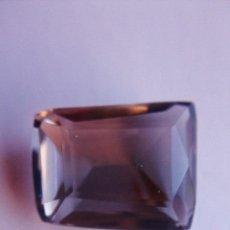 Coleccionismo de gemas: MAGNIFICA PIEZA FANCY DE CUARZO AHUMADO TRANSPARENTE, NATURAL DE 10.10 CT.. Lote 167798924