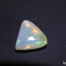 Coleccionismo de gemas: 1,30 CT OPALO NATURAL ORIGEN ETIOPIA COLORES MUY BRILLANTES SIN TRATAR. Lote 168094464
