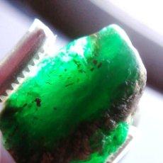 Coleccionismo de gemas: BONITA ESMERALDA DE COLOMBIA EN BRUTO DE MINA CON 19 CT.. Lote 168375388