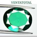 Coleccionismo de gemas: VERDE ESMERALDA TSAVORITE GRANATE DE 5,25 KILATES Y MIDE 1,0 X 0,9 CENTME -CON CERTIFICADO AGI - Nº4. Lote 168506892