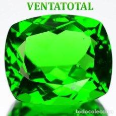 Coleccionismo de gemas: PERIDOT VERDE OLIVA DE 37,15 KILATES Y MIDE 2,7 X 2,2 CENTIMETROS -CON CERTIFICADO AGI - Nª35. Lote 168523924