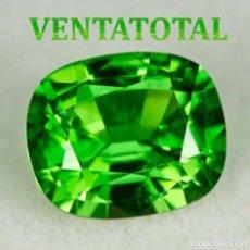 Coleccionismo de gemas: PERIDOT VERDE OLIVA DE 27,75 KILATES Y MIDE 2,5 X 1,9 CENTIMETROS -CON CERTIFICADO IGL - Nª36. Lote 168523948