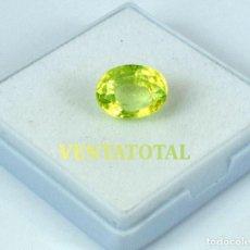 Coleccionismo de gemas - PERIDOT VERDE OLIVA DE 9,55 KILATES Y MIDE 1,3 X 1,0 CENTIMETROS -CON CERTIFICADO IGL - Nª37 - 168524124