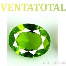 Coleccionismo de gemas - PERIDOT VERDE OLIVA DE 2,05 KILATES Y MIDE 1,0 X 0,8 CENTIMETROS -CON CERTIFICADO AGSL - Nª38 - 168524200