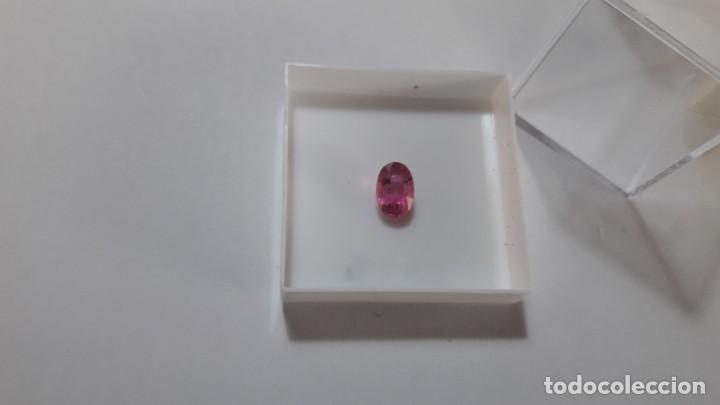 Coleccionismo de gemas: PIEDRA TALLADA DE TURMALINA ELBITA. MOZAMBIQUE . - Foto 2 - 168548564
