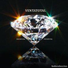 Coleccionismo de gemas: TOPACIO BLANCO DESLUMBRANTE TALLA DIAMANTE 98,00 KILATES - MIDE 4,0 X 2,0 CENTIMETROS Nº1. Lote 168723096