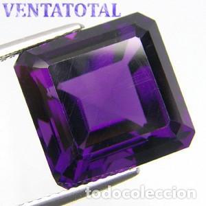 AMATISTA VIOLETA DE 12,40 KILATES - MIDE 1,5 X 1,4 X CENTIMETROS Nº1 (Coleccionismo - Mineralogía - Gemas)