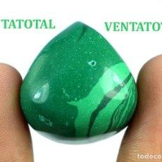 Coleccionismo de gemas: MALAQUITA DE BRASIL DE 59,40 KILATES MEDIDA DE 2,5 X 2,3 X 1,4 CENTIMETROS-Nº2. Lote 169061752