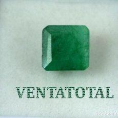 Collectionnisme de gemmes: ESMERALDA COLOMBIANA DE 3,90 KILATES MEDIDA DE 0,9 X 0,9 CENTIMETROS APROXIMADO -Nº26. Lote 169242736