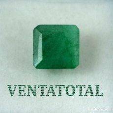 Coleccionismo de gemas: ESMERALDA COLOMBIANA DE 5,60 KILATES MEDIDA DE 1,0 X 1,0 CENTIMETROS APROXIMADO -Nº28. Lote 218641090