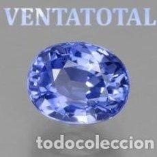 Coleccionismo de gemas - ZAFIRO AZUL ATERCIOPELADO DE 6,60 KILATES MEDIDA DE 1,0 X 0,8 CENTIMETROS - Nº15 - 169244624