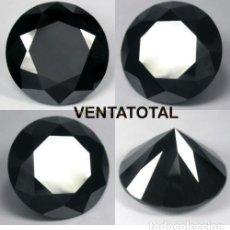 Collectionnisme de gemmes: DIAMANTE NEGRO DE 11,13 KILATES - MEDIDA 1,2 X 0,7 CENTIMETROS Nº9. Lote 169762822