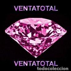 Coleccionismo de gemas: ZAFIRO ROSA DESLUMBRANTE TALLA DIAMANTE DE 6,76 KILATES Y MIDEN UNO 1 X 0,7 CENTIMETROS -Nº4. Lote 170135222