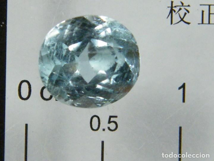 Coleccionismo de gemas: (074) MINERALES. AGUAMARINA, GEMA FACETADA, MADAGASCAR. - Foto 3 - 171377513