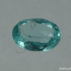 Coleccionismo de gemas: (152) MINERALES. APATITO AZUL, GEMA FACETADA, MADAGASCAR.. Lote 171378797