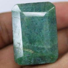 Coleccionismo de gemas: ESMERALDA NATURAL DE 95.90 QUILATES - CON CERTIFICADO EGL - MUY BUENA CALIDAD. Lote 171476799
